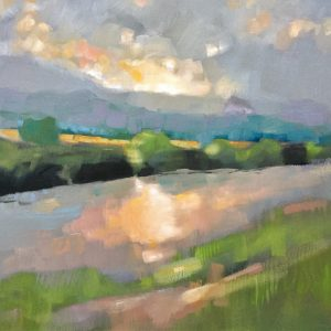summer walk by the Nith 50x70 £895