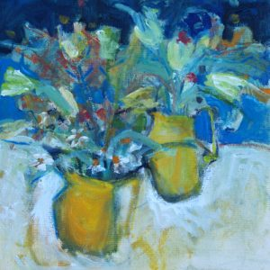 Two Yellow Jugs 10x10